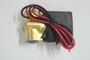 Lot Of 8 Rssm 3 1 4 Electric Brass Solenoid Valve Water Air 24v