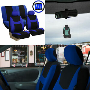 Universal Seat Covers For Auto With Accessories And Air Freshener 11 Colors