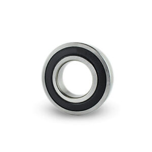 100pc Premium 698 2rs Abec3 Rubber Sealed Deep Groove Ball Bearing 8 X 19 X 6mm