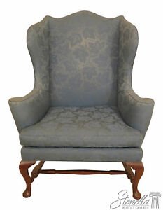 46242ec Kittinger Cw 44 Colonial Williamsburg Mahogany Wing Chair