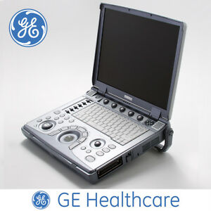 Logiq E Portable Ultrasound Ge Machine System Only