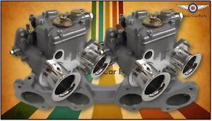 Suits Datsun L16 L18 L20 Fajs Twin 40 Dcoe Weber Typ Sidedraft Carburettor Kit