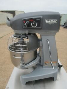 Hobart Legacy Hl200 20qt Dough Planetary Mixer Barely Used