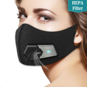 Dust N95 Particulate Respirator Electric Smart Mask Pollution Dust Air Pollution