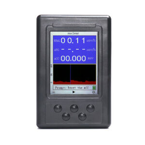 Upgraded Geiger Counter Nuclear Radiation Detector Personal Dosimeter Marble