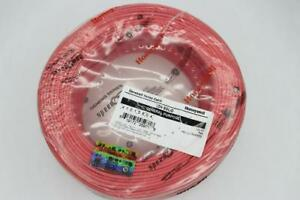 Honeywell Genesis 41015804 22 4 Solid Unshielded Cable Red 500