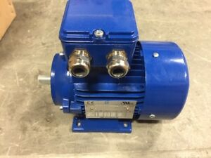 T t Electric 0 12kw 1000 Rpm 63 Frame Motor B5