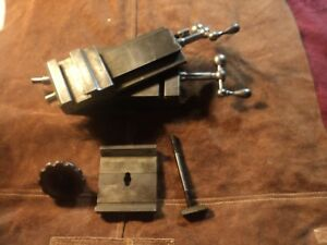 Vintage Hjorth Lathe Compound Cross Slide 8 3 4 Swing Made In Usa