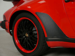18x8 18x9 Porsche 911 Wheels Bbs Style Black With Red Lip