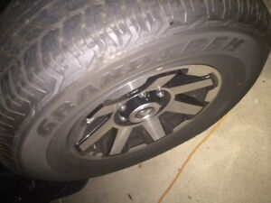 2018 Toyota 4runner Trd Off Road Rims And Tires With 2500 Miles
