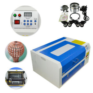 110v 50w Co2 Laser Engraver Cutter Engraving Cutting Machine Usb Port