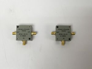 Mini circuits Zfdc 15 5 Sma Rf Directional Coupler 1mhz To 2000 Mhz 50 ohms