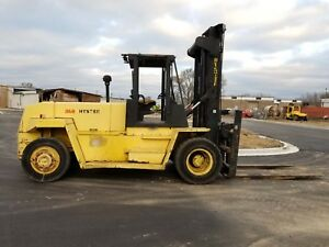 Hyster 36 000lb H360xl 2 stage Mast Side Shift Diesel Pneumatic Tires