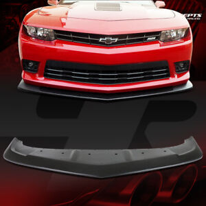 Abs A Style Racing Front Bumper Chin Lip Spoiler For 14 15 Chevy Camaro Ss Z28