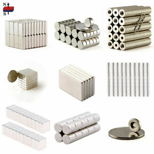 N35 N50 N52 1 100pcs Small Magnets Strong Block Magnet Rare Earth Neodymium