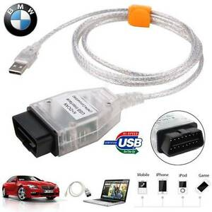 Car Diagnostic Tool Cable Inpa Ediabas K Dcan Usb Interface Obd2 Obdii For Bmw