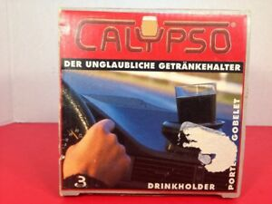 Vintage Calypso Pivoting Drink Cup Holder No Spills For Car Truck Boat Rv New