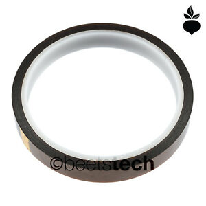 Polyimide Kapton Tape Soldering Heat resistant Esd safe 12mm X 30m