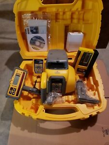 Spectra Precision Gl422n Hl760 Cr600 Self leveling Dual Slope Laser Level