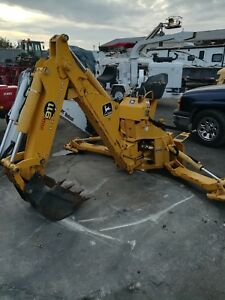 John Deere Pro 911 Extender Backhoe Attachment For Skid Steer Loaders