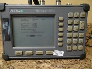 Anritsu Site Master S251c Tested Working