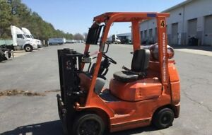 2004 Toyota 7fgcu25 Cushion Tire Forklift Only 4200 Hours Please Read Below
