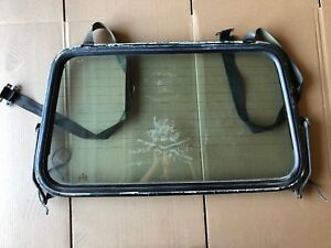 Vw Cabriolet Rabbit Mk1 Oem Rear Top Defroster Window