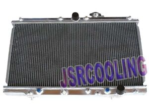 2 Row Aluminum Performance Radiator Fit For Honda Prelude 1997 2001 2 2l At New