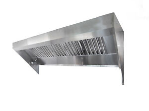 8 Food Truck Or Concession Trailer Exhaust Hood