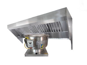 6 Food Truck Or Concession Trailer Exhaust Hood System With Fan