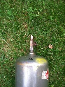 B 40cf Acetylene Welding Gas Cylinder Tank Bottle Used