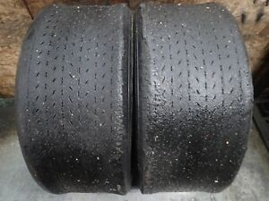 2 6 00 15 Goodyear Blue Streak Sports Car Special Race Slick Tires No Repairs