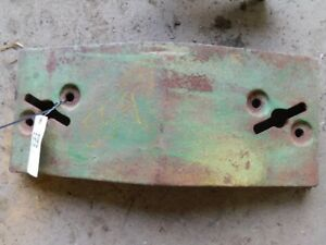 John Deere Single Slab Front Tractor Weight Part r27648r Tag 559