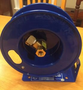 Coxreels Lg lpl 320 Little Giant Air Hose Reel Capable Of 20 Feet Of 3 8 Hose