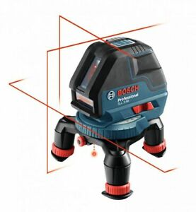 Bosch Gll 3 50 360 Deg Three plane Leveling And Alignment line Laser