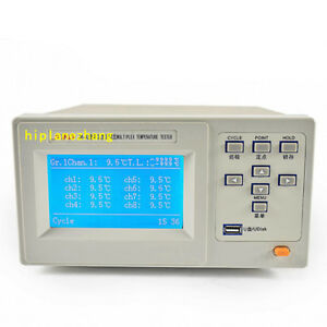 8 Channels Thermocouple Temperature Tester Meter 100 To 1000c Accuracy 0 5 Usb