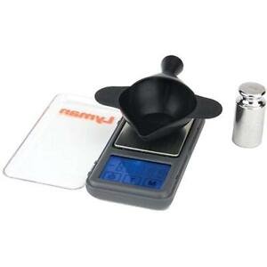 Digital Scales Pocket Touch 1500 Kit With Powder Pal Funnel Pan