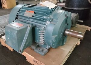 Used Reliance Electric Motor 40hp 460v Tefc 324t Frame High Effeciency