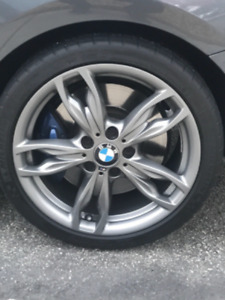 Used Bmw 18 Oem Rims And Tires 5x120 18x7 5 18x8 Set Offers Accepted