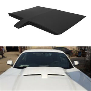 Paintable Injection Air Engine Gt Type Hood Scoop Cover For 15 17 Ford Mustang