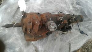 1965 Chevrolet 3 Speed Overdrive Transmission Needs Rebuilt