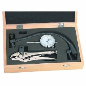 Clamping Dial Indicator For Machine Shop Auto Rotor Break Diagnostic Tool W Case