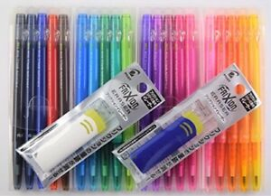 Pilot Frixion Ball Slim Erasable 0 38mm Extra Fine Ballpoint Pen 20 Color With F