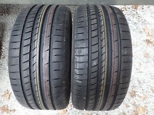 2 New 245 35 19 93y Goodyear Eagle F1 Asymmetric 2 Runonflat Moextended Tires