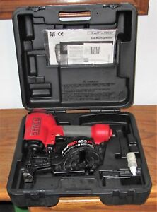 Senco Roof Pro 455xp Coil Roofing Nailer W Case Manual Registration