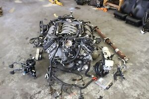 2015 Ford Mustang Gt Coyote 5 0 V8 Engine W 6 Speed Trans Swap Conversion 28k