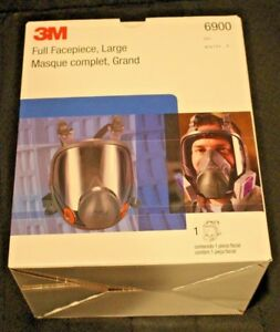3m 6900 Full Face Respirator Size Large New In Box Mask Case Of 4 Made In Usa