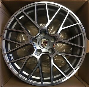 20 Porsche Cayenne S Sport Gts Panamera 2014 19 Wheels Rims Oem Set 4 Germany
