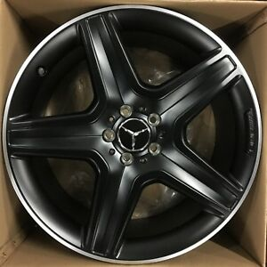 20 Oem G63 Mercedes Benz 2015 17 19 Amg G500 G Wagon Powder Black Wheels Rims Nr