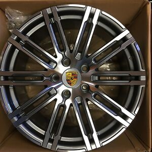 20 Porsche Cayenne S Gts Turbo Oem Wheels Tires 275 45 20 Factory 20x10 2018 19